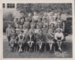 Randall 1950;  anyone know the names of the rest of these kids   top row l/r; Dave Clowers,?, John Schliecker, Bill Hepn