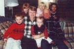 Susie Swan her husband Mel and the grandkids
