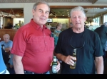 Tony and Dave at a Blackshirt Breakfast gathering - 'The Golden Guernsey Boys'