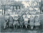 Following is the third grade class photo from Hadfield School taken on Oct. 2nd, 1950.  Our teacher was Miss De Kalver.