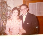 Kathy Bergo and Dave Christensen  Winter Formal, 1960