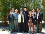 Doris Laufenberg Stoddard and family at nephew Jason Young's  graduation
