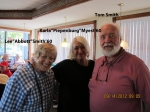 Lee Abbot Smith & husband Tom with Karla at Blackshirt Breakfast Group - 9/14/2012