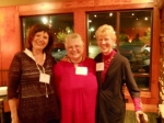 Marge Maas Pichotta, Bonnie Zeller Remitz and Helen Lyngaas Myers